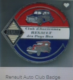 N. van Tienen badge car 250